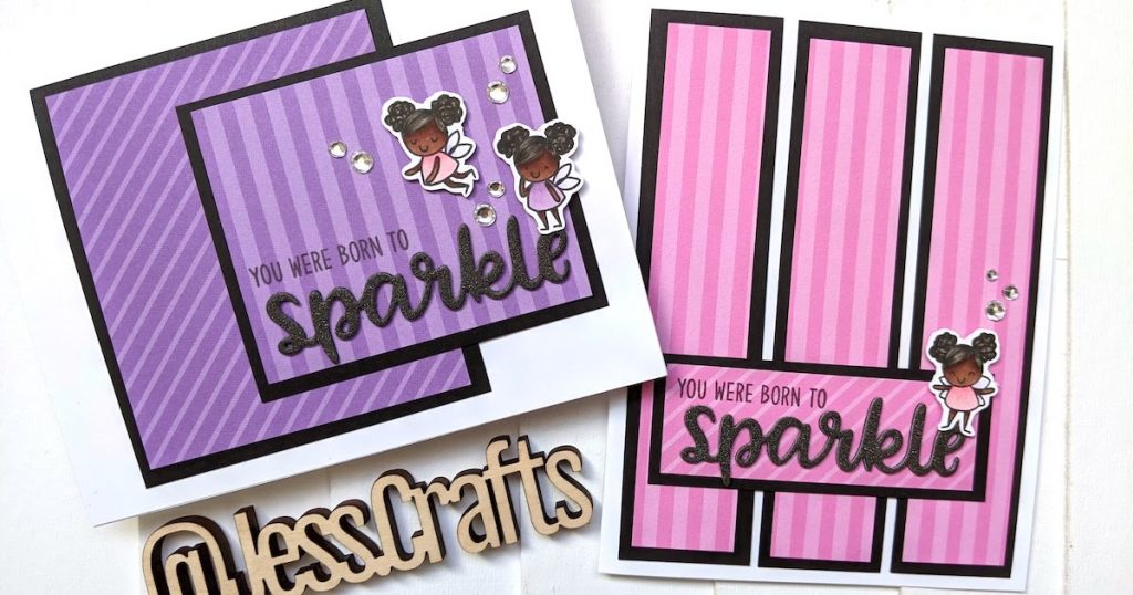 Card examples of one sheet wonder 1 and 2