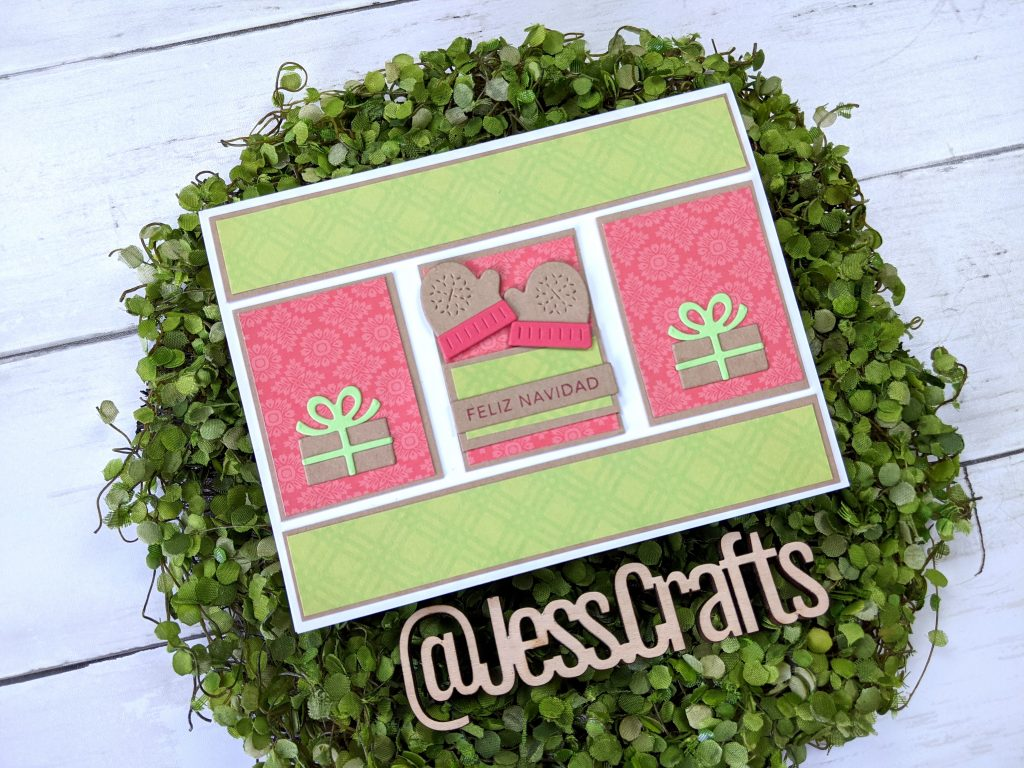 Card for One Sheet Wonder Cardmaking Template #25 by Jess Crafts